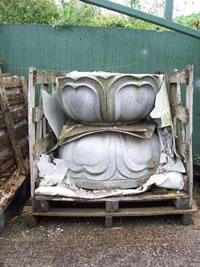 Kwan Yin Pedestal