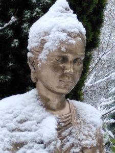 Snowy Mettā Buddha